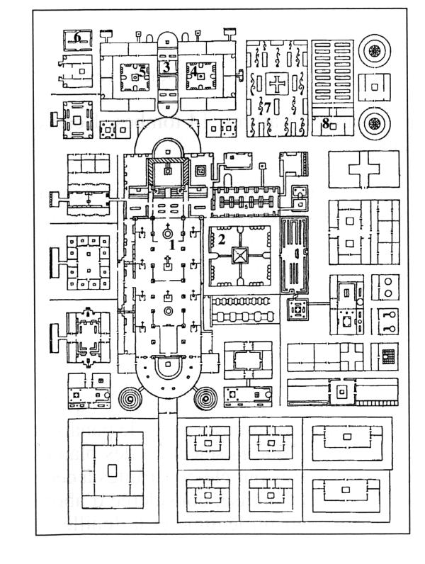Plan de l'Abbaye de Saint-Gall