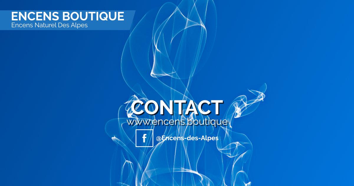 Encens des Alpes - Contact