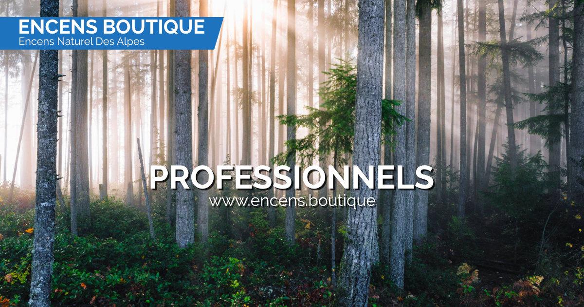 Encens des Alpes - Professionnels